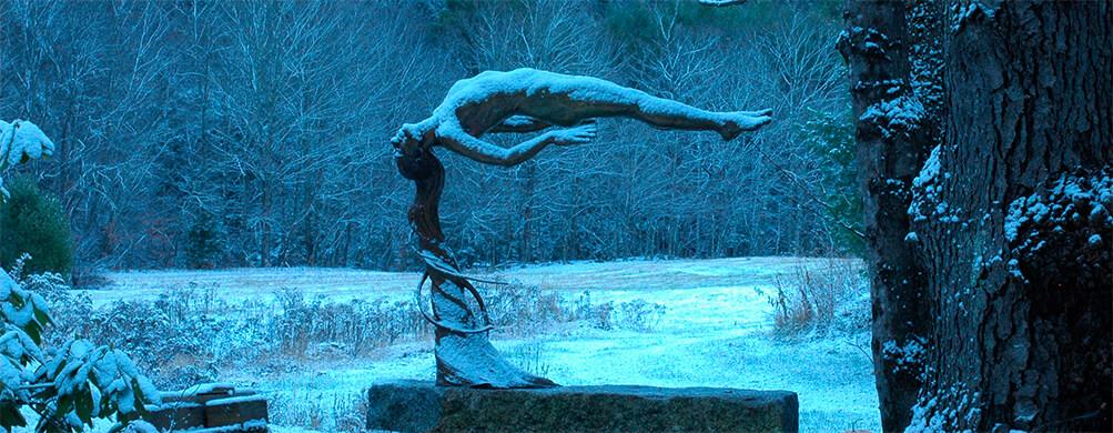 Bronze sculpture by Andrew DeVries