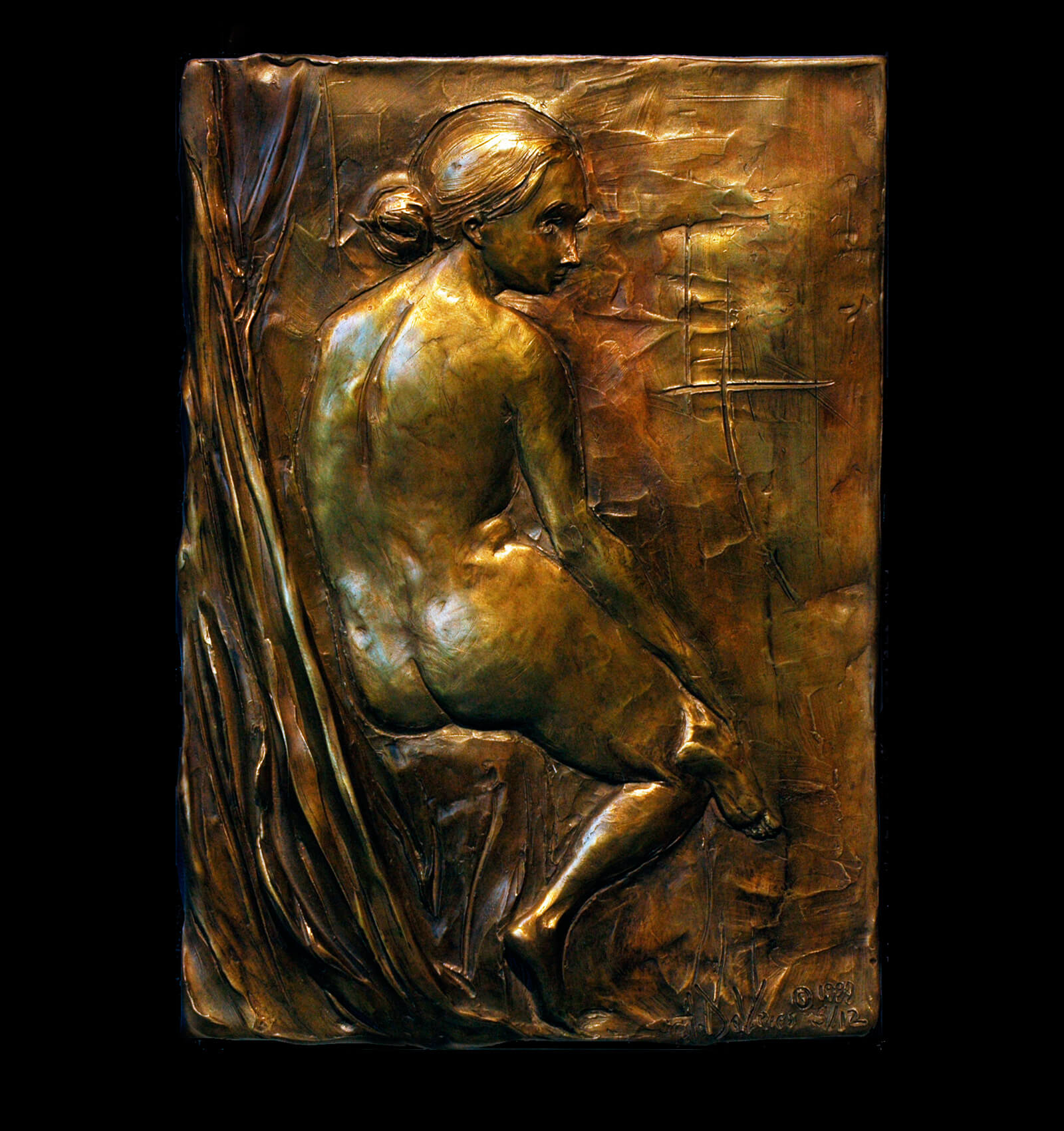 Diana ⋆ andrew devries figurative bronze sculpture