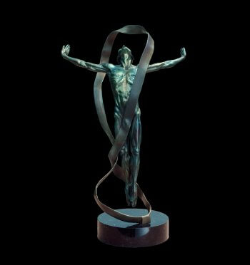 Echoes Figurative Bronze Sculpture by Andrew DeVries
