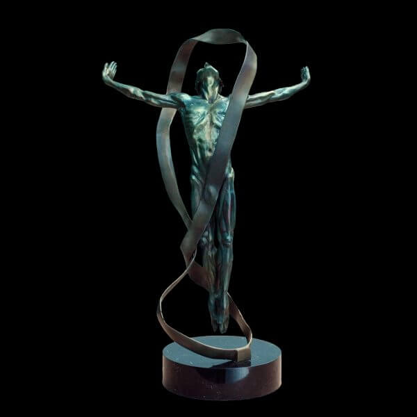 Echoes Figurative Bronze Sculpture by Andrew DeVries