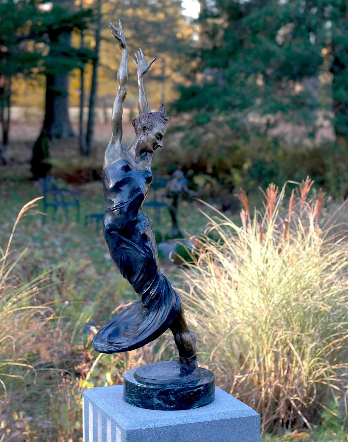 Allegro large dance sculpture by Andrew DeVries