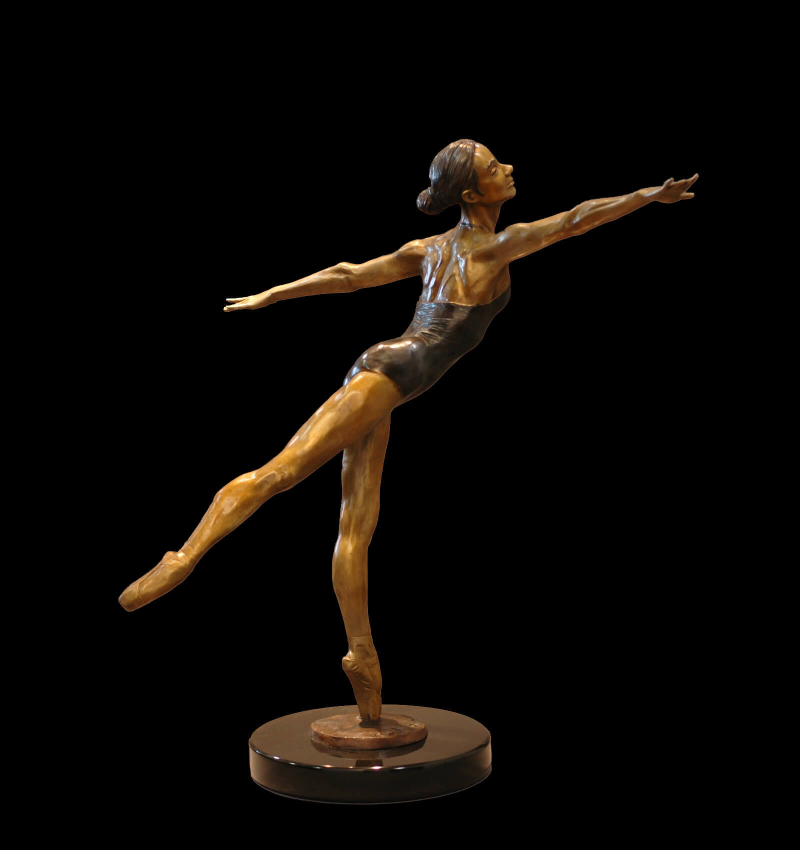 Moment Of Grace >> Moment Of Grace Andrew Devries Figurative Bronze Sculpture