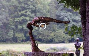 WMHT PBS Video of Andrew creating sculptures in bronze
