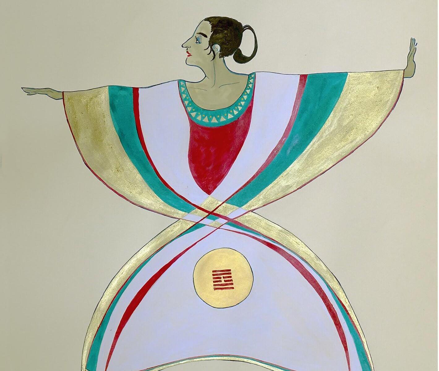 paintings of dancers by Andrew DeVries